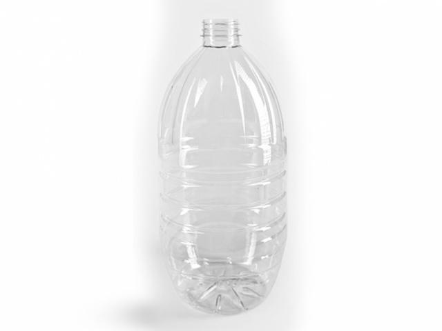 ПЭТ бутылка для негазированных напитков объёмом 3 л