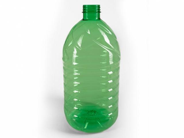 ПЭТ бутылка для негазированных жидкостей объёмом 5 л
