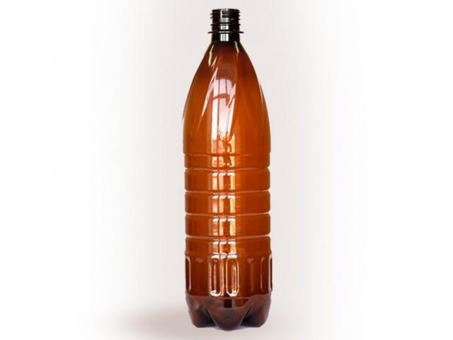 ПЭТ бутылка для газированных напитков объёмом 1 л