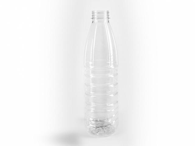 ПЭТ бутылка для негазированных напитков объёмом 1 л