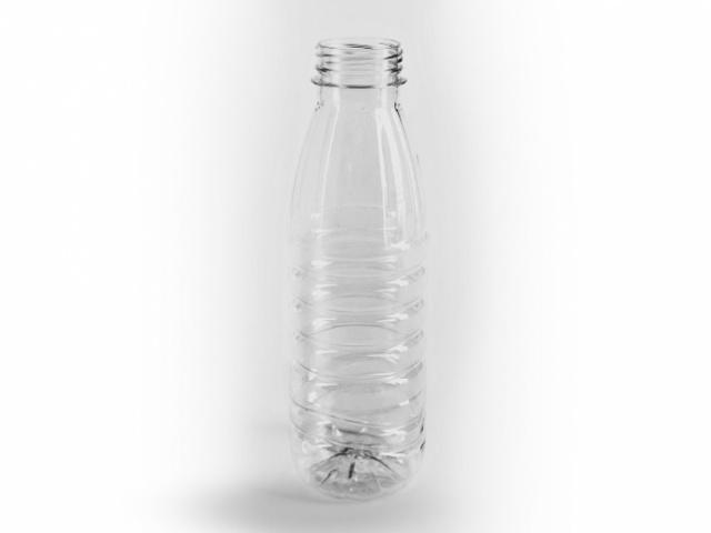 ПЭТ бутылка для негазированных напитков объёмом 0,5 л